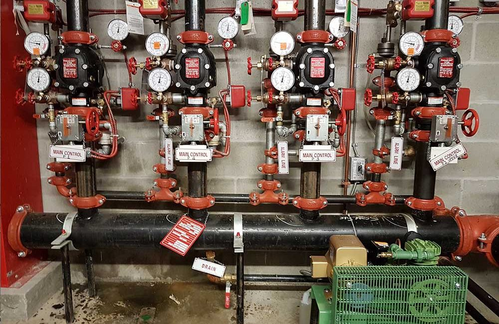 Fire Sprinkler Inspection - Otis Fire Protection